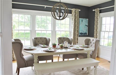 summer  dining room reveal city farmhouse