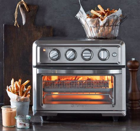 air fryer oven cuisinart toaster into appliance countertop combines ovens fryers convection gadgeteer dry