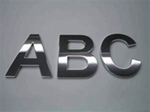welcome to mila displays australia 3d adhesive chrome With large chrome letters