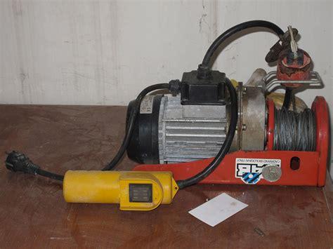 argano usato argano elettrico annunci in tutta italia kijiji argano per carroponte 4
