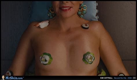 Naked Kim Cattrall In Sex And The City The Movie