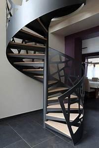 Escalera Caracol De Hierro Moderna