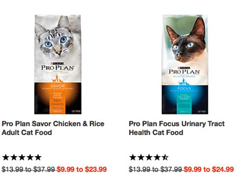 purina pro plan cat food coupons new 5 1 purina pro plan cat or kitten food deals