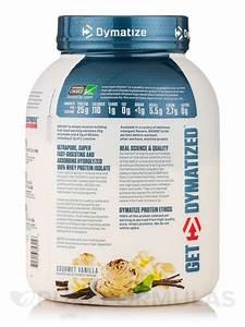 Iso-100 U00ae Hydrolyzed 100  Whey Protein Isolate  Gourmet Vanilla Flavor