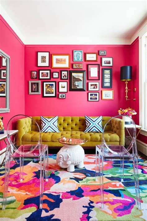 bright colored bedrooms live best 25 pink living rooms ideas on pink live ation