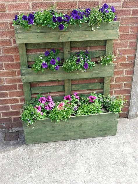 pallet planter pallet herb garden is the solution for limited space
