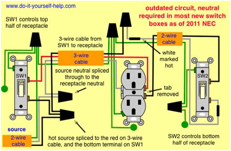light switch outlet wiring diagram house wiring diagram