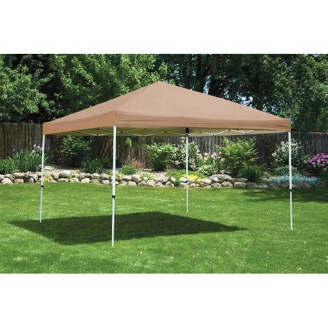 straight leg pop  canopy  garage car shelters  sportsmans guide
