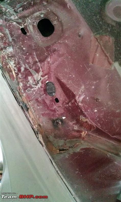 fiat punto accident b pillar damage page 4 team bhp