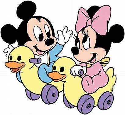 Mickey Minnie Disney Clip Babies September Toy