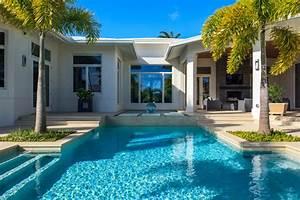 Naples, Florida, Modern, Private, Residence, -, Contemporary, -, Pool, -, Miami