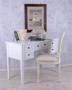 Landhaus Shabby Chic : romantischer schreibtisch im cottage landhaus stil weiss shabby chic ebay ~ Bigdaddyawards.com Haus und Dekorationen