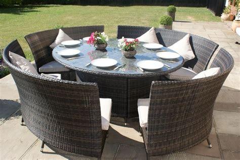 Cheap Garden Furniture Sets by Maze Rattan Baby La 4 Seat Dining Garden Furniture