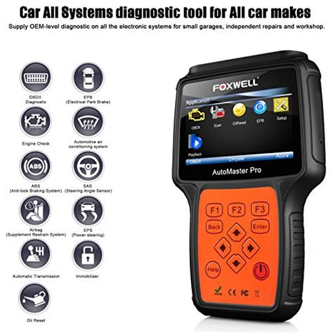car scanner pro foxwell nt624 pro professional automotive obd2 scanner obdii import it all