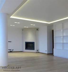 Plafond lumineux design Hegenbart