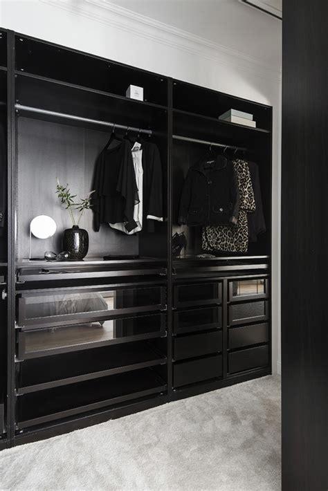 inspiration garderober och walk  closet elle decoration