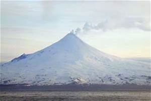 Skiing the Pacific Ring of Fire and Beyond: Shishaldin Volcano