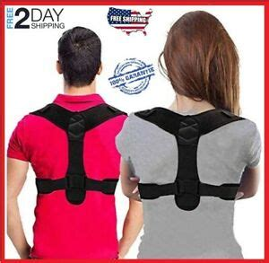 If you know the source of your guide, post it in the comments so people can know the true heros! True Fit Posture Corrector Belt Adjustable for Women & Men NEW 2020 | eBay