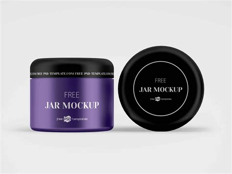 It is very easy to the layers in psd file are segregated and colorized. Free Multipurpose Cosmetic Jar Mockup (PSD)
