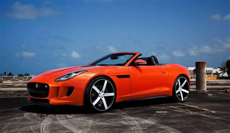 Jaguar F-type Looks Good On Vossen Wheels