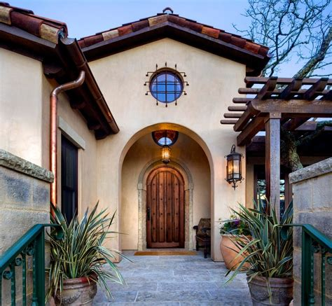 spanish homes exterior mediterranean with santa barbara style traditional outdoor sectional