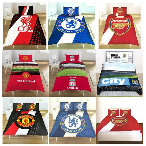 official football club simple et fc sets housse de couette literie ebay
