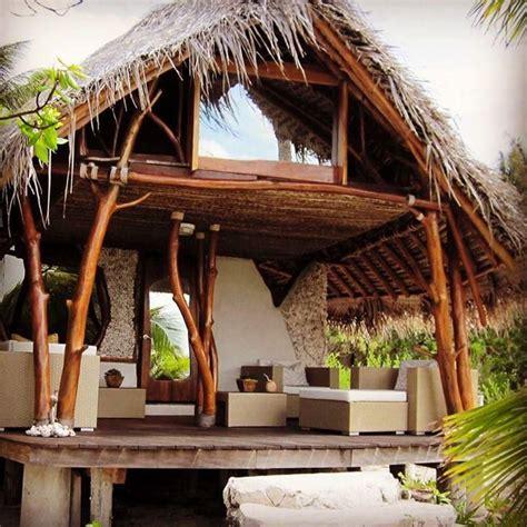 ninamuresort tikehau tropical house design bamboo