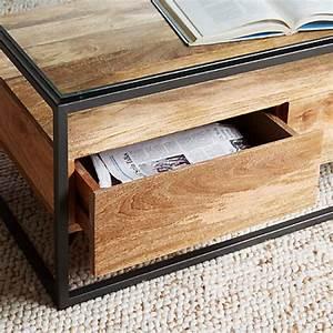 buy west elm industrial storage box frame coffee table With industrial storage coffee table west elm review