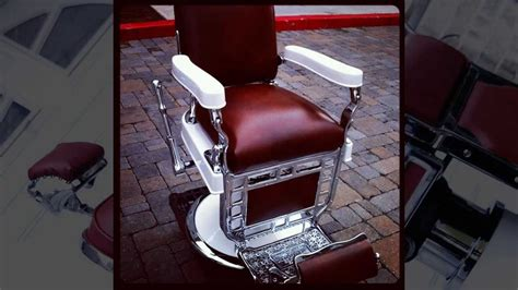 belmont barber chairs craigslist 1920 s theo a koch barber chair restoration