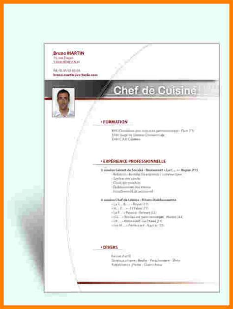 Exemple Présentation Cv by Exemple Pr 233 Sentation Cv Un Cv En Francais Exemple