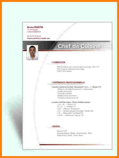 Exemple De Présentation De Cv by Mod 232 Le Pr 233 Sentation Cv T 233 L 233 Charger Exemplaire De Cv