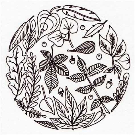 mandalas herbst ausdrucken ausmalen kinder malvorlage