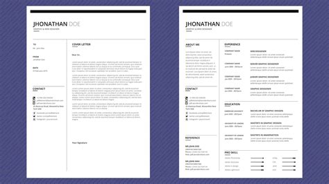Sle Template For Resume by Free Professional Resume Template Modern Line