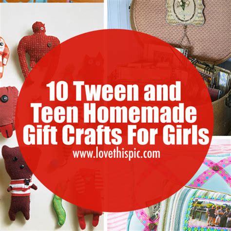 tween  teen homemade gift crafts  girls
