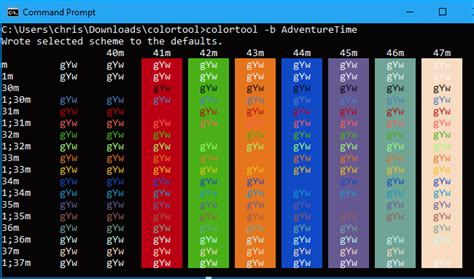windows color scheme how to customize your command prompt s color scheme with