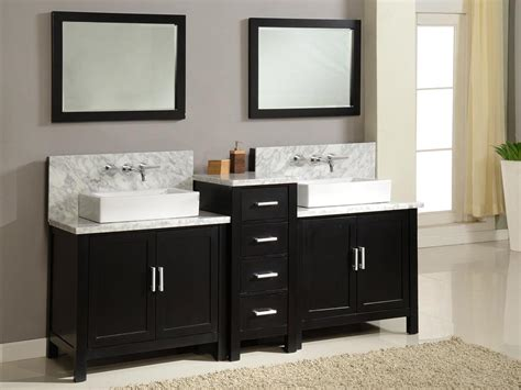 The Vanity by Vessel Sink Vanity With Single Sink For Tiny Bathroom