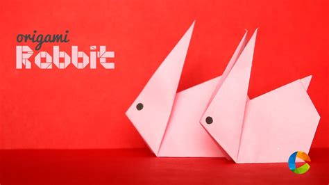 diy origami rabbit easy paper craft youtube