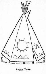 Coloring Teepee Patterns Printable Pages Crafts Books Templates Parade Quilt Beading Craft Stencils Stencil Embroidery Painting Preschool Cabin Colorful Getcolorings sketch template