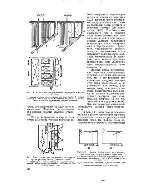 Схема рециркуляции дымовых газов в котлах с вращающимися регенеративными воздухоподогревателями