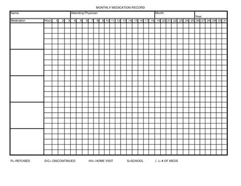 medication administration record template 9 best images of printable medication administration record template free printable medication
