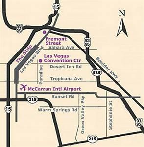 Las Vegas Mccarran Airport Map