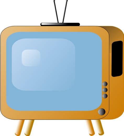 tv clipart styled tv set clip at clker vector clip