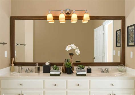 framed bathroom mirror ideas different bathroom mirrors styles and designs