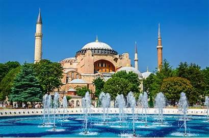 Sophia Hagia Istanbul Turkey Fontana Tour Museum