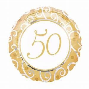 Cadeau Noce D Or : ballon noce d 39 or 50 ans ~ Teatrodelosmanantiales.com Idées de Décoration