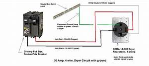 I Am Installing A 3 Prong 30 Amp Dryer Outlet  Using A