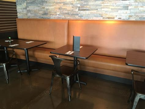 Restaurant Banquettes & Wall Benches Tampa + Orlando