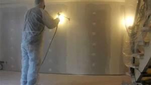 Pistolet Peinture Plafond : peinture int rieure au pistolet airless murs et plafonds ~ Premium-room.com Idées de Décoration