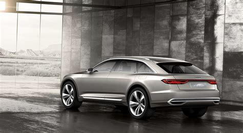 New Audi Prologue Allroad Concept Previews Flagship