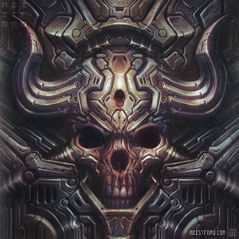 Biomech-hellskull By Noistromo On Deviantart